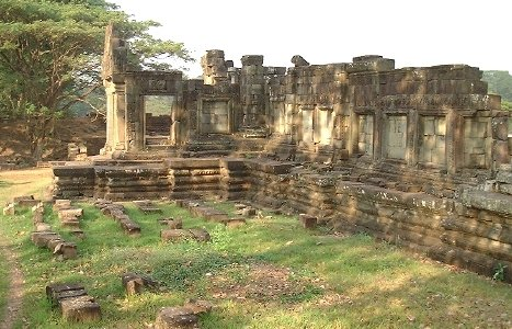 The ruins at Baphuon, right by Angkor Thom