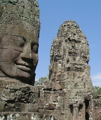 Angkor Thom: Smiling faces all around! (CLICK HERE TO GO TO THE Angkor Thom PAGE)
