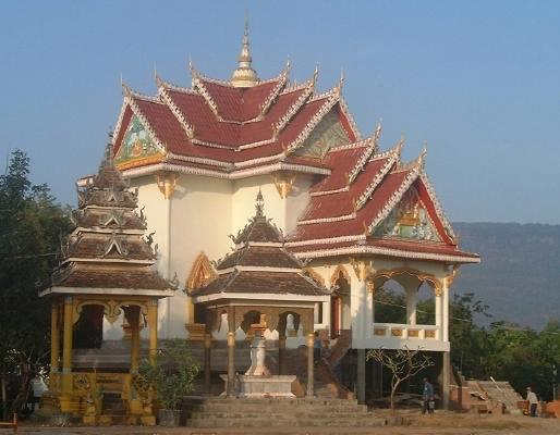 Wat Than Fai, in Pakse, southern Laos